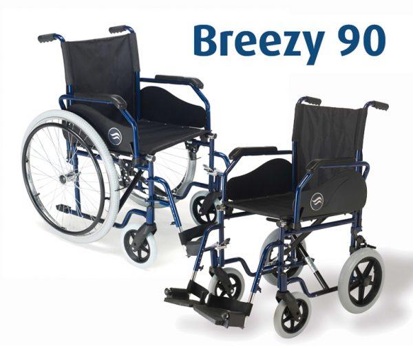 Breezy 90: Silla de ruedas