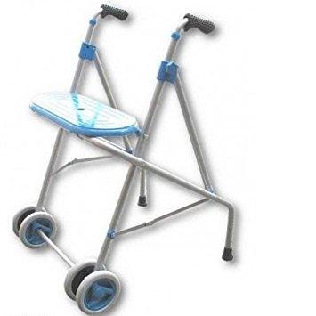 Andador de aluminio AL 3g de Prim con asiento