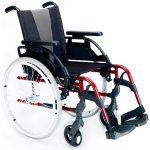 Breezy Style en rojo con ruedas grande