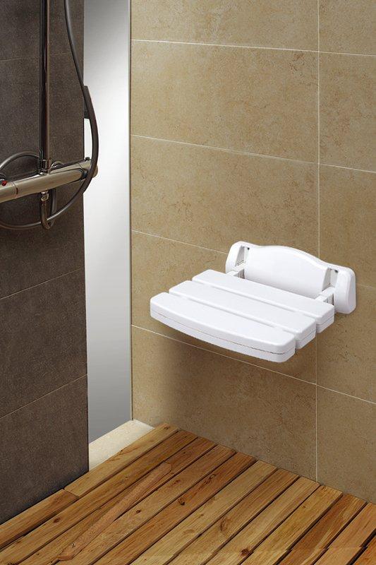 Asiento abatible de pared de baño 2189 de Hermanos Garcia